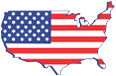 USA One Real Estate, Flag Logo